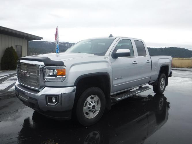 2018 GMC Sierra 2500HD SLE Double Cab Long Box 4WD