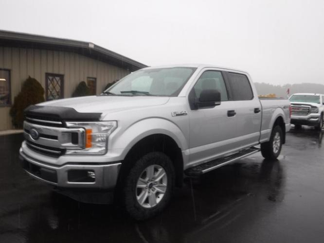 2018 Silver Ford F-150 XLT SuperCrew 6.5-ft. Bed 4WD (1FTFW1E56JK) with an 5.0L V8 OHV 16V engine, 6A transmission, located at 3810 US Hwy 93 S, Kalispell, MT, 59901, (406) 752-1138, 48.131493, -114.269760 - Photo #0